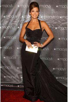 Jennifer Lopez's best looks ever: black halter gown