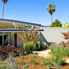 Mid Century Modern Homes Landscaping eichler homes in southern california | socal eichlers for sale