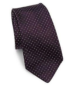 Ralph Lauren Grenedine Silk Tie - Purple - Size No Size