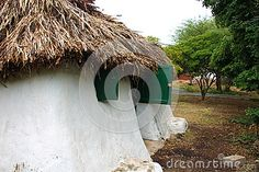Former slave house in the Caribbean