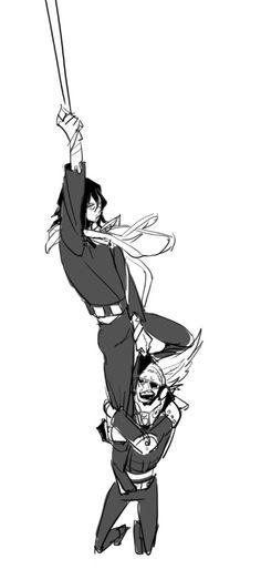 Boku no Hero Academia || Aizawa Shouta, Present Mic.