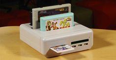 Retro Freak es una consola que permite jugar a cartuchos originales de 11 consolas retro e incluso hacer backups de los mismos.