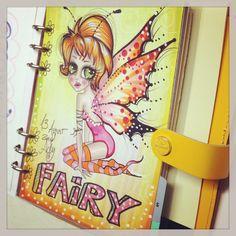 Fairy done by www.adrianaalmanza.blogspot.de