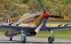 """The Donald """"Bunny"""" McLarty Hawker Hurricane Mk IV > Vintage Wings of Canada Hawker Hurricane, Desert Camo, Ww2 Aircraft, World War Ii, Airplane, Planes, Air Force, Fighter Jets, Nostalgia"""
