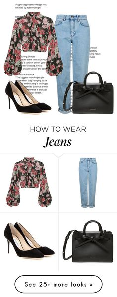 """"" by jasmine077 on Polyvore featuring Topshop, Jill Stuart and Jimmy Choo"
