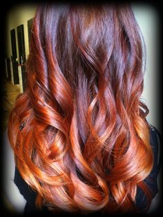 Copper Ombre' By Mary Campbell-Vintage Hair Studio (level 3)