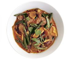 Panang Curry with Beef and Shiitakes recipe