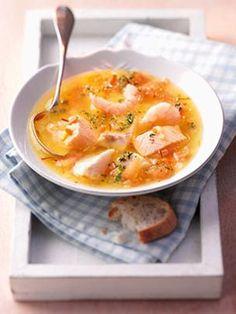 Fischsuppe mit Garnelen und Gemüse | bofrost* Rezeptwelt