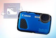 Διαγωνισμός La vache qui rit με δώρο μια αδιάβροχη Camera Canon Powershot D30 αξίας 299€ κι ένα selfie stick - https://www.saveandwin.gr/diagonismoi-sw/diagonismos-la-vache-qui-rit-me-doro/