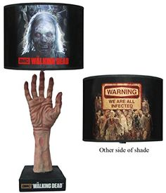 The Walking Dead Zombie Table Lamp - This would look really cool in any horror buff's room, but an absolutely amazing gift for Walking Dead fans!