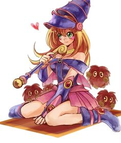 dark magician girl | Tumblr // AAAHHH!!! <3 <3 <3