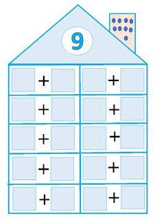 El pupitre: Descomposición de números. Kindergarten Math Activities, Teaching Math, Worksheet For Nursery Class, Number Writing Practice, Student Self Assessment, School Frame, Math Numbers, First Grade Math, Math Classroom