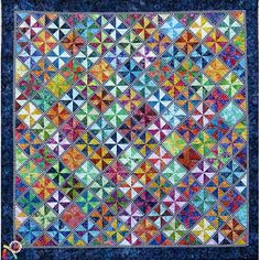 Carousel Quilt Pattern by BeColourful