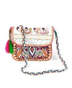 New to Sale: Z&L Small Embellished Crossbody Bag