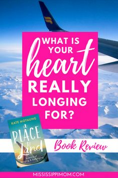 What is your heart REALLY longing for? A Place to Land by Kate Motaung answers that question beautifully. Christian Marriage, Christian Women, Christian Living, Christian Faith, Bible Verses For Women, Spiritual Formation, Spiritual Disciplines, Love Your Family, Christian Encouragement