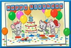 Happy 3rd Birthday, ABCmouse.com!  Today is a VERY special day! It was just a short three years ago that we launched ABCmouse.com in beta. We are now in countless homes and classrooms throughout the U.S.