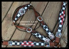 Custom order tack set for a race car fan!