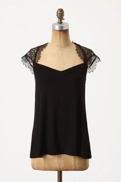 One can never have too many black tops (or black anything, come to think of it!)