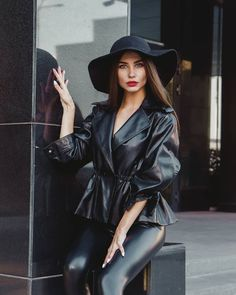 Leather Trousers, Leather Skirt, Leather Jacket, Leather Fashion, Tights, Womens Fashion, Female Fashion, Legs, Skirts