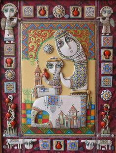 Душевное творчество армянского художника-керамиста Цолака Шагиняна - Ярмарка Мастеров - ручная работа, handmade
