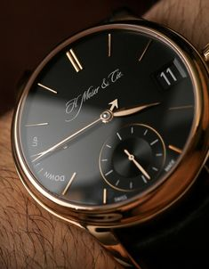 H. Moser & Cie Endeavour Perpetual Calendar Watch Review Wrist Time Reviews