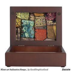 Klimt art Stylization Keepsake Box