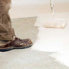 Best Concrete Paints for 2020 Best Concrete Paint, Painted Concrete Floors, Concrete Steps, Painting Concrete, Stained Concrete, Diy Concrete, Concrete Projects, Diy Driveway, Driveway Repair
