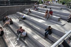 high line seating/stair/ramp.