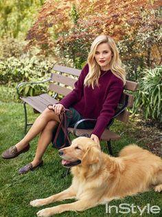 Риз Уизерспун (Reese Witherspoon) в InStyle Magazine US Preppy Mode, Preppy Style, My Style, Instyle Magazine, Mode Bcbg, Stars D'hollywood, Reese Witherspoon Style, Estilo Preppy, Looks Chic