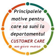 Afla care sunt principalele motive pentru care clientii EGT Romania suna la Customer Care.  #egtromania #customercare #specialists #communication #benefits #customer #callus #talktous #wegivemore