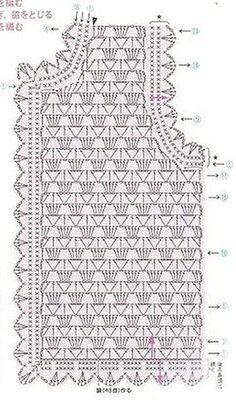 Black Crochet Dress How To Crochet A Crochet - Diy Crafts - maallure Débardeurs Au Crochet, Pull Crochet, Crochet Vest Pattern, Black Crochet Dress, Crochet Cardigan Pattern, Crochet Jacket, Freeform Crochet, Crochet Diagram, Crochet Blouse