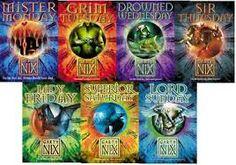 Garth Nix - Keys to the Kingdom series