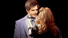 Cosette and marius (andy mientus and samantha hill)