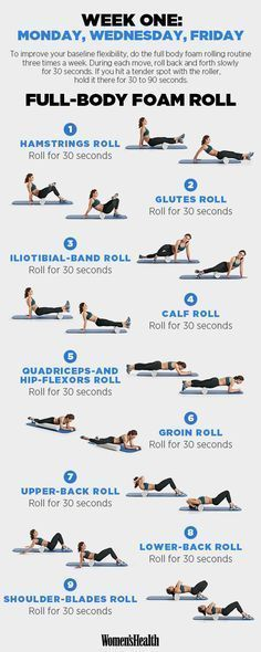 FOAM ROLL!!  Hike Up Your Workout with This Trail-Ready Training Plan