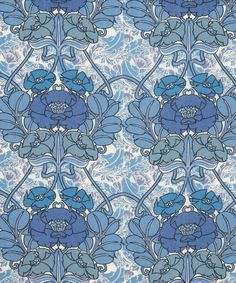 One of my favourite Art nouveau nature inspired patterns by Liberty who opened their first shop 1875 in London.