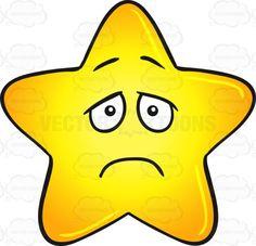 Single Gold Star Cartoon With Depressed Look On Face Emoji #big #blue #bright #brightly #cartoon #cheerless #cutestar #dark #darkening #dejected #depressing #depressive #dismal #dispiriting #dreary #emoji #emoticon #fatstar #gloomful #glooming #gloomy #gloss #glossy #gold #golden #gradient #grim #heavenlybody #hopeless #long-faced #puffed #puffy #sad #saddening #shine #shining #shiningbrightly #shiny #smiley #smilies #star #starcartoon #stellar #sulky #uncheerful #yellow #yellowgradient ...