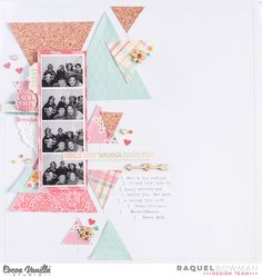 Girls just wanna have Fun! | Sugar & Spice Layout | Raquel Bowman | Cocoa Vanilla Studio ook in de Scrap Every DEE kit van februari 2016