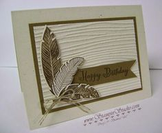 Stampin' Studio: A card for him