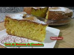 TORTA DE MANZANA DE LICUADORA receta facilita - YouTube Cooked Apples, Americas Test Kitchen, Sweet Bread, Cakes And More, Cake Pops, Vanilla Cake, Sweet Recipes, Banana Bread, Cupcake Cakes