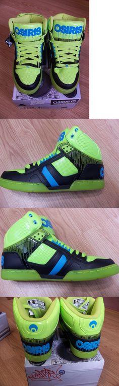 Men 159070: New Osiris Nyc 83 Skateboarding Athletic Sneakers Lme Cyn Blk -> BUY IT NOW ONLY: $45 on eBay!