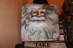 Santa painting!