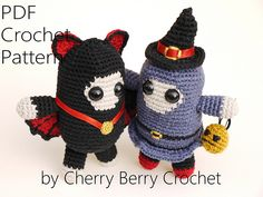 Ravelry: Halloween spirits pattern by Cherry Berry Crochet