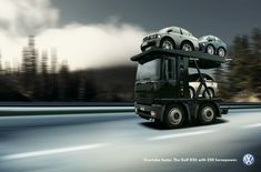 Car transporter | Ads of the World™