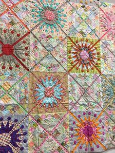 Queens Cross quilt pattern by Jen Kingwell