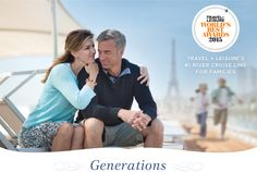 Generations - Travel + Leisure's #1 River Cruise Line For Families-Give the special young people in your life something they'll never forget—the most incredible vacation ever. Children, tweens and teens are all big fans of our all-inclusive and award-winning (and just plain fun) Generations family cruises in Europe. Plan your next great family adventure with Uniworld today.