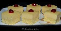 Prajitura aleasa I Foods, Cheesecake, Pudding, Desserts, Cakes, Dessert Ideas, Romania, Bar, Appetizers