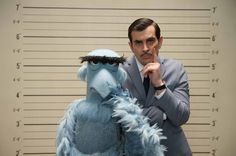 Sam Eagle and Ty Burrell in a new muppet movie coming in 2014!!
