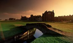 The old golf course at St. Andrews, Scotland