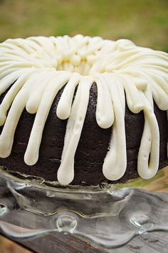 Barefoot and Baking: Chocolate Bundt Cake with Cream Cheese Frosting