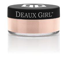 Deaux Girl Mineral Powder Foundation; Scent free scent control foundation. Makeup for women hunters www.huntressview.com